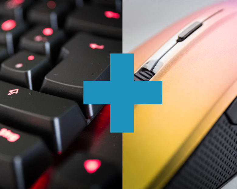 gaming mouse keyboard combo