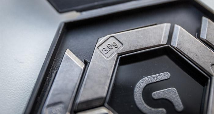 logitech g502 weights