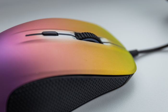 steelseries rival fade gaming mouse